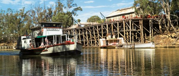 Paddlesteamers & riverboats of the Murray River - Australia Book by famous Australian photographer Pete Dobre - Page 31
