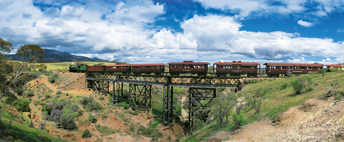 Pichi richi railway by australian photographer pete dobre for Landscapers adelaide south