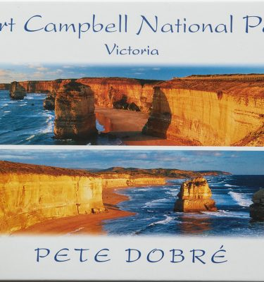 Port Campbell National Park - Victoria Book by famous Australian photographer Pete Dobre - Cover