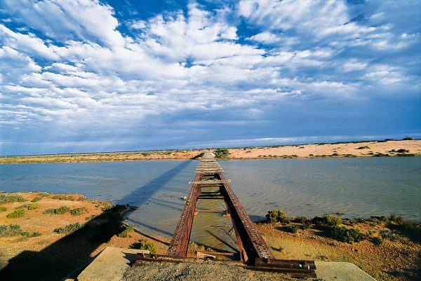 The Strzelecki, Birdsville & Oodnadatta Tracks in Outback Australia Pete Dobre Book Cover page 51